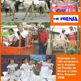 Julio 2008: Anexión, día de la madre y cumpleaños