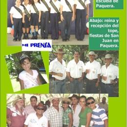 2008: Junio a full actividades en Paquera