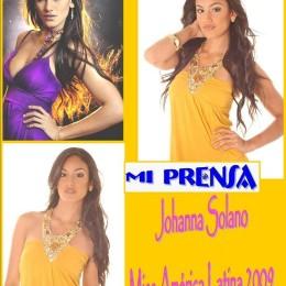 Johanna Solano es Miss América Latina 2009