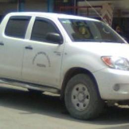 ¿Uso oficial? Vehículo municipal de Paquera utilizado en fin de semana
