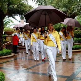 Mariela Barrantes Benavides, representa de Costa Rica en el Miss Model Of The World 2012, que se realiza en Shenzhen, China