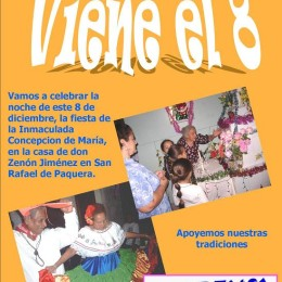 Una verdadera tradición en San Rafael de Paquera: La fiesta del Ocho