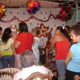 Celebración de «El Ocho» en San Rafael de Paquera, Puntarenas: Sábado 08 de Diciembre del 2012