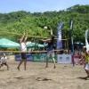 Marcelo Araya y Jonathan Guevara en masculino – Natalia Alfaro y Katherine Quesada en femenino, campeones del Voleibol de Playa en Bahía Tambor