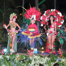 Galería fotográfica del Reinado y el Tope de los Carnavales Puntarenas 2014
