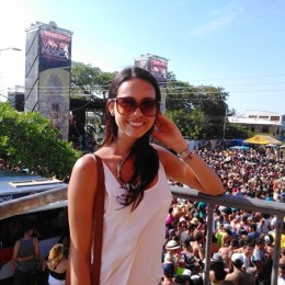 Carolina Vargas Cruz: La reina josefina que también brilla en Puntarenas 2015