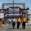 Cuando estaba atracado en Puerto Paquera: Incendio en Ferry Tambor 3 esta mañana de martes 15 de Septiembre 2015