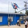 Acueducto de Paquera recibe banderas del Programa del Sello de Calidad del Agua: Fueron izadas el pasado jueves 28 de Julio 2016