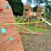 Distrito de Paquera, Puntarenas: Concejo Municipal de Paquera Instala playground en San Rafael y barrio Gran Paquira