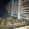 Nos reportan que ferry colisiona con rampa en Puerto Paquera y esta se cae: Percance interrumpe el servicio entre Puntarenas y Paquera hasta que se dé una reparación