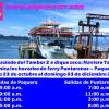 Por traslado del Tambor 2 a dique seco: Servicio de ferry Puntarenas – Paquera se reduce de seis a cuatro viajes por sentido del lunes 23 de octubre al domingo 03 de diciembre 2017