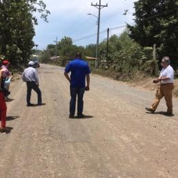 Este lunes 30 de abril 2018: Ministerio de Obras Públicas y Transportes MOPT dio la orden de inicio para el asfaltado entre Playa Naranjo y Paquera en la Ruta Nacional 160