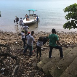 Comunidad costera de Paquera empezó a sumar ecolones: En el marco del Día Mundial de los Océanos se inaugura a Isla Chiquita como el primer centro de acopio marino