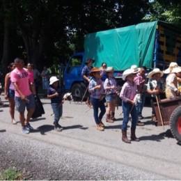 Miércoles 25 de julio 2018: Galería fotográfica del Desfile de Boyeros y de caballitos de palo en Río Grande de Paquera