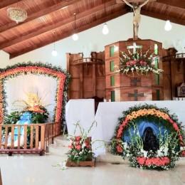 Galería fotográfica y nota sobre celebración de la Virgen de Los Ángeles en La Tigra de Lepanto: También hubo operativo interinstitucional para seguridad de romeros y visitantes