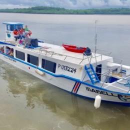 Del viernes 23 de noviembre al domingo 02 de diciembre 2018: Lancha rápida con capacidad para casi 80 pasajeros dará servicio entre Puntarenas y Paquera