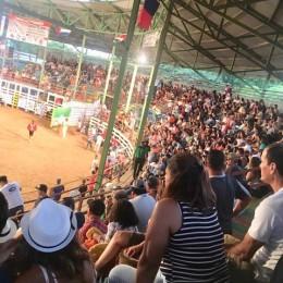 El Coyunda, El Cerveza y El Achotillo, fueron protagonistas de tres de las seis mejores jugadas en el cierre del Verano Toreado Cóbano 2019