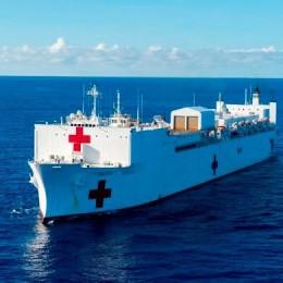 Barco Hospital se mantendrá anclado frente a costas puntarenenses: INCOP está en la mejor disposición para brindar las facilidades que se requieran en caso de que el buque decida atracar