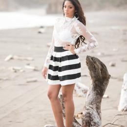 En Los Ángeles, E.E.U.U.: La naranjeña Raquel Guevara Ávila será la representante de Costa Rica en Miss Panamerican 2015