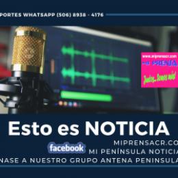 Semana Santa: Concejo Municipal de Puntarenas acuerda Ley Seca para todo el cantón de Puntarenas