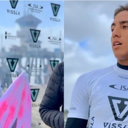 Huntington Beach, California, EEUU: Darshan y Malakai se sumaron a la ronda 3 del Mundial