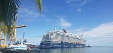 Crucero Alemán arriba por primera vez a Limón: Más de 2.500 cruceristas y 1.000 tripulantes llegaron a la Terminal Hernán Garrón Salazar este lunes