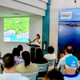 Primera Dama presenta avances de Ruta de Reactivación de Isla San Lucas: En diciembre, arrancarán obras de construcción de senderos, baños y centro de acopio