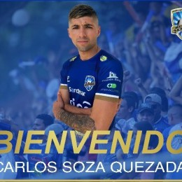 Jicaral Sercoba anuncia la incorporación de tres jugadores: Los defensores Francisco Flores Zapata, Jorge Gutiérrez Solano y el delantero chileno Carlos Soza Quezada