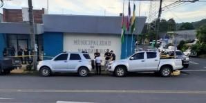 FISCALÍA DE PROBIDAD, TRANSPARENCIA Y ANTICORRUPCIÓN DIRIGE ALLANAMIENTO EN LA MUNICIPALIDAD DE NANDAYURE