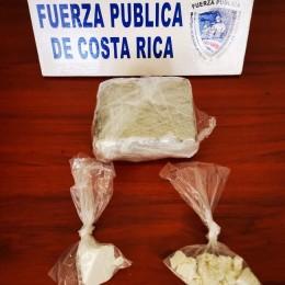 Detención se realizó en las cercanías del faro: Fuerza Pública captura a un hombre vecino de Paquera con importante cantidad de droga en Puntarenas