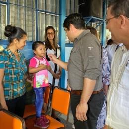 Costa Rica entra a clases: El Presidente de laRepública, Carlos Alvarado; el Vicepresidente,Marvin Rodríguez;y la Ministra de Educación Pública, Guiselle Cruz, dieron por inaugurado el Curso Lectivo 2020 desde el Colegio Técnico Profesional de Cóbano