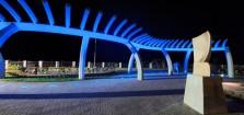 Puntarenas estrena renovado Parque del Muellero: Es una apuesta para reactivar una zona de la ciudad históricamente abandonada