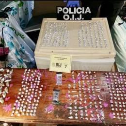 Detenidos en Guararí de Heredia sospechosos de Infracción a la Ley de Psicotrópicos: En apariencia vendían más de un millón de colones diarios