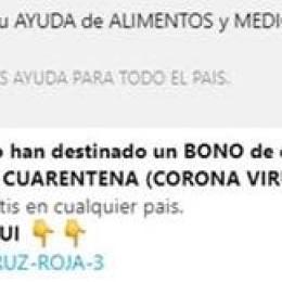 Cuidado: Cruz Roja Costarricense y la Organización Panamericana de la Salud/ Organización Mundial de la Salud (OPS/OMS) desmienten mensaje que circula en redes sociales