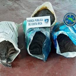 Por segunda vez en la semana la Fuerza Pública detiene tres personas por robo de cable: Ellos iban en un vehículo en ferry de Paquera a Puntarenas