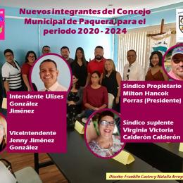 Periodo 2020 – 2024: Conozca los nuevos integrantes del Concejo Municipal de Paquera