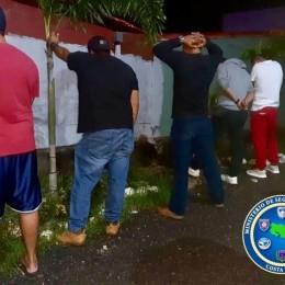 Fuerza Pública de Alajuela interviene fiesta con la presencia de 50 personas en Ciruelas de Alajuela