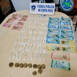 Sospechoso es requerido por el OIJ por otros delitos: Fuerza Pública detiene sujeto en control de carretera con gran cantidad de droga