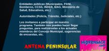 Antena Peninsular: Abrimos espacios para que la gente se exprese y hagan valer su voz por el bien de sus comunidades
