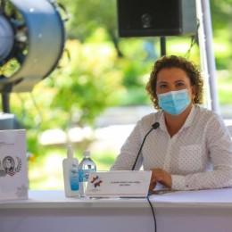 Diputada Carmen Chan de Nueva República a Carlos Alvarado en Puntarenas: Deje de utilizar la pandemia para destruir al pueblo con impuestos