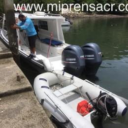 Se queja Capitán de lanchas de la CCSS: Dejaron dingui boat pegado en el muelle en Paquera lo que dificulta labores de atención de emergencias