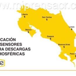 Costa Rica registra 500.000 rayos caídos en 2020: Descarga medio millón se dio el martes en Mansión de Nicoya, provincia de Guanacaste
