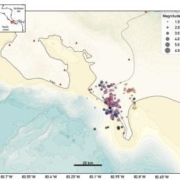 Ovsicori reporta más de 200 réplicas del sismo de 5.4 de ayer en el sur del país