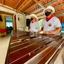 15 de Septiembre: Concejo Municipal de Paquera celebró la Independencia con un acto cívico y música de marimba