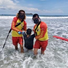 Cruz Roja Costarricense e ICT reportan alta visitación en playas: Se reportaron seis rescates en tan sólo una hora el pasado fin de semana