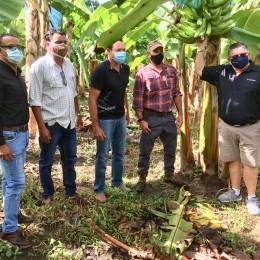 Ministro de Agricultura visita proyectos productivos de Coopeforjadores y se reúne con Intendente de Paquera