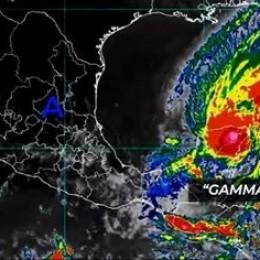 Disminuye influencia indirecta de Tormenta Tropical Gamma: Aunque continúan lluvias en el Pacífico, Valle Central y montañas de la zona Norte y Caribe