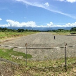 Inversión de ₡1.674 millones permitirá tener nueva pista en aeródromo de Quepos