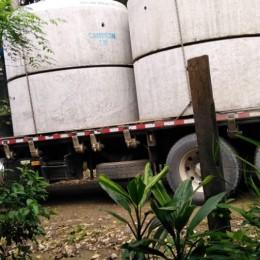 Concejo Municipal de Paquera adquiere casi 90 alcantarillas para utilizarlas en caminos vecinales: En un paso crítico en San Rafael se sustituirán alcantarillas pequeñas por otras más grandes para evitar que vecinos de un sector se queden aislados cada vez que llueve fuerte