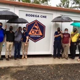 La CNE la entregó este viernes: Comité Municipal de Emergencias de Paquera cuenta con moderna bodega para la atención de emergencias en la zona